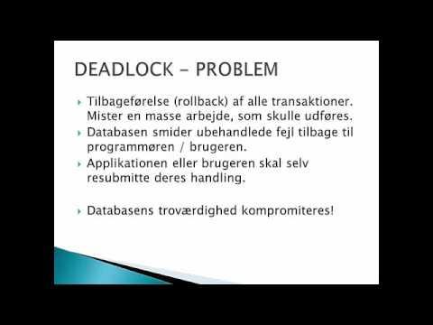 Transaction - Deadlock