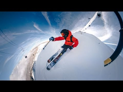 GoPro Fusion: Skiing at Mammoth Mountain with Overcapture