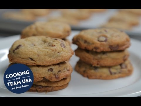 Cooking With Team USA and Brian Boitano | Chocolate Chip Cookies