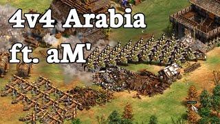 Teamgame ft. aM'! | 4v4 Arabia vs Team China