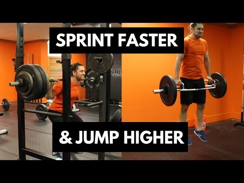 Sprint faster and jump higher with these 2 scientifically PROVEN exercises