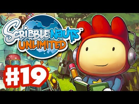 Scribblenauts Unlimited - Gameplay Walkthrough Part 19 - Bullet Point Bayou (PC, Wii U, 3DS)