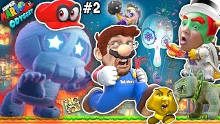 SUPER MARIO ODYSSEY or CANDY? Solar Eclipse Mike Dum Dum Shake ya Bum Bum ♫ (FGTEEV Boss Battle #2)