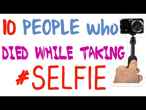 10 People Who Died While Taking Selfie