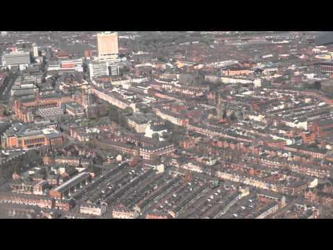 Flight into Belfast (George Best Belfast City Airport)