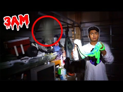 DO NOT MAKE FLUFFY SLIME AT 3AM! (GHOST)