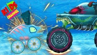 Haunted house monster truck Episode 64 HHMT In Underwater World