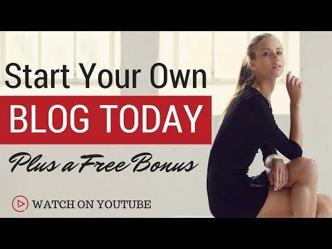 Start A Wordpress Blog in 10 Minutes | Free Bonus| Tutorial for Beginners 2016