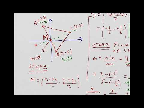 Finding the median of a triangle (part 2)