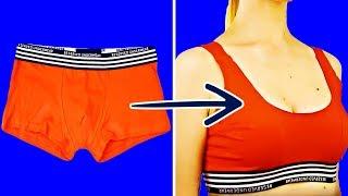 27 SUPER EASY DIY CLOTHING HACKS THAT