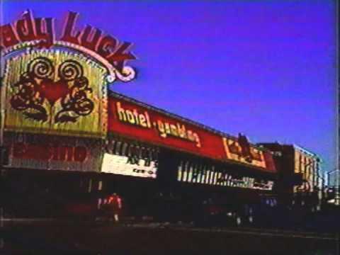 Las Vegas Fremont street drive in 1988