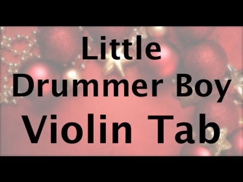 Learn Little Drummer Boy on Violin - How to Play Tutorial