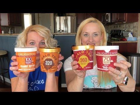 Halo Top VS Enlightened Ice Cream Review
