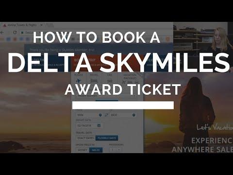 How to Book a Delta Skymiles Award Ticket