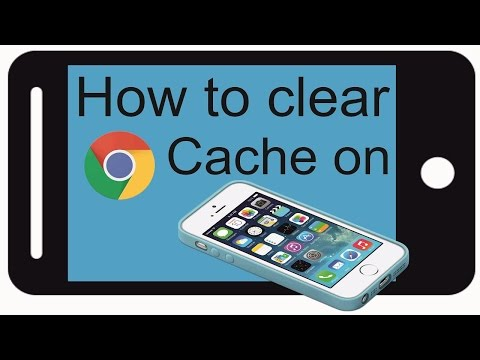 How to clear cache in google chrome on iphone