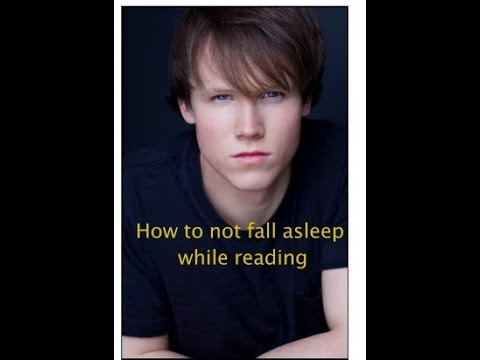 How to not fall asleep while reading and stay more focused