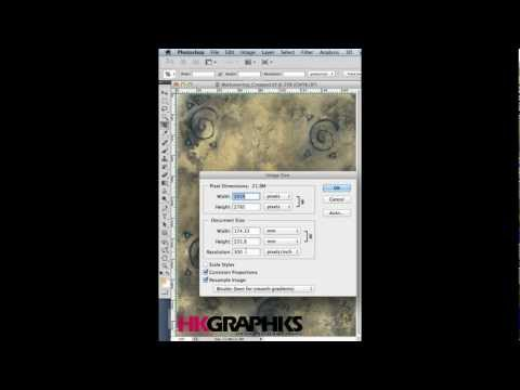 Tutorial - Changing DPI in Photoshop