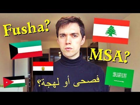Learn Arabic: Fusha / MSA or Dialect?