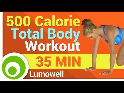 500 Calorie Workout No Equipment