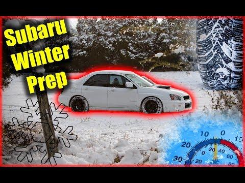 Subaru Winter Prep