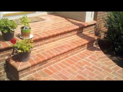 Brick Patio Installation in Warrenton, VA