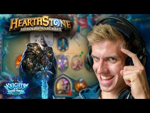 [Hearthstone] Frozen Throne Solo Adventure - How to beat Lord Marrowgar - F2P basic card Deck