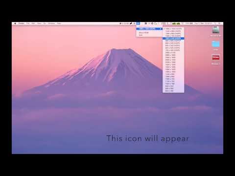 How to Change Macbook Pro Retina Resolution (Retina, 13-inch, Mid 2014)