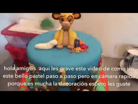 Timon & Pumbaa  cake ( pastel de Timon y pumba)