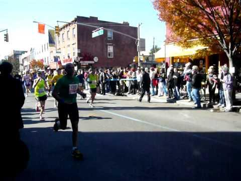 NYC Marathon 2011 Bedford Ave, Brooklyn