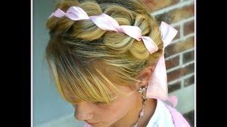 Braided Ribbon Headband