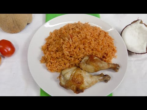 Coconut Rice Recipe | How I make Nigerian foods