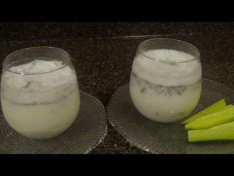 Doogh (Afghan Yogurt Soda Refreshment Drink)