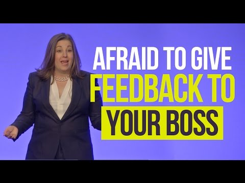 Giving Feedback to Your Boss - Why Employees are Afraid | Shari Harley