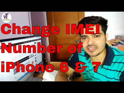 How To Change IMEI Number Of iPhone Devices | Unlock Iphone 6 & 7Plus