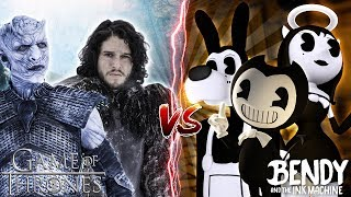 Minecraft BENDY AND THE INK MACHINE VS GAME OF THRONES!!