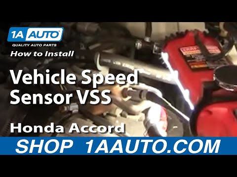 How To Replace Install Vehicle Speed Sensor VSS Accord Civic Odyssey CL TL 92-01 1AAuto.com