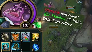 Download Dr Mundo but I actually try and heal my team because I am a doctor obviously lmaooo Video