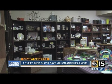 Thrift shop will help save you on antiques
