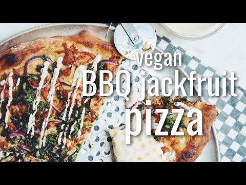 VEGAN BBQ JACKFRUIT PIZZA (#MPGIS #DEANDRATHENEWGIRL COLLAB ) | hot for food