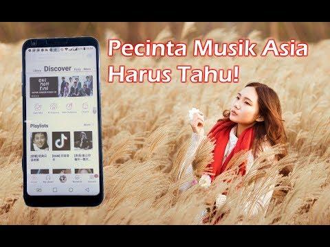 Aplikasi Musik Korea, Jepang, Cina, Barat Terlengkap & Terbaik