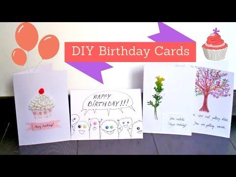 Easy and Creative Birthday Card Ideas | DIY Handmade Birthday Cards Crafts| by Fluffy Hedgehog