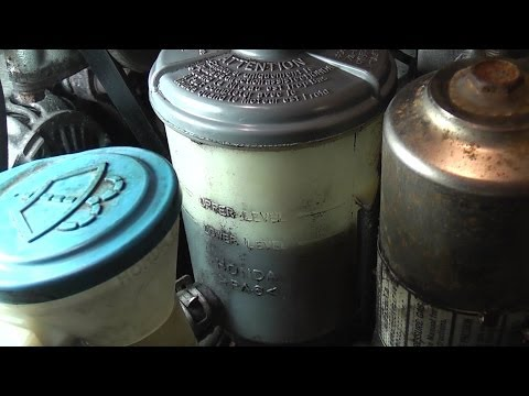94-97 Honda Accord Power Steering Leak Diagnosis