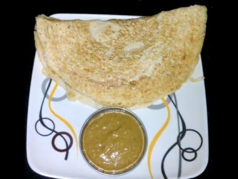 Instant oats dosa preparation in telugu / ఇన్స్టెంట్ ఓట్స్ దోశ
