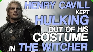 Henry Cavill Kept Hulking Out Of His Costume In The Witcher (Actors Who Buffed Up For Movie Roles)
