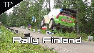 Day 3 pure action (incl. Vetomies) - WRC Neste Rally Finland 2017