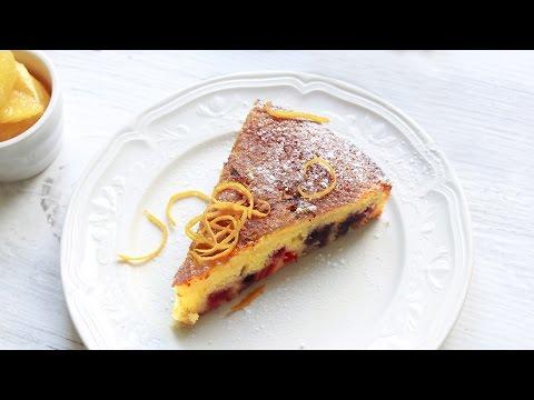 Recette de gâteau à l'orange délicieux et facile