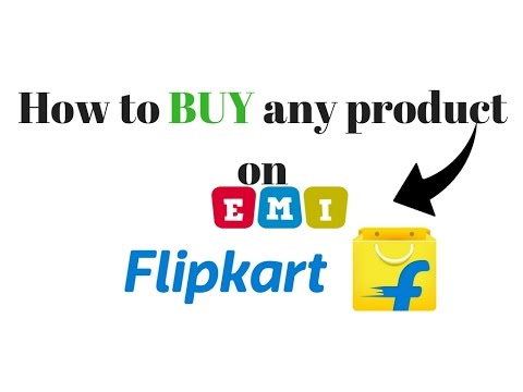 How to buy any Product on EMI|FLIPKART|Technical Baba