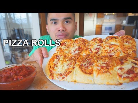 How to make PIZZA ROLLS