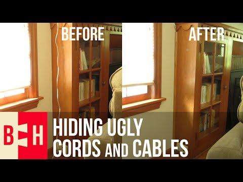 Hiding Ugly Cords and Cables