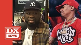 "50 Cent Says He Would Never Respond To Nick Cannon Because He ""Sucks At Rapping"""